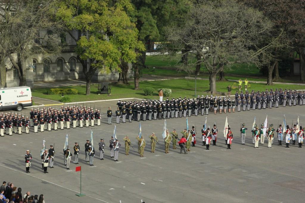 13 de septiembre, día del arma de Infanteria