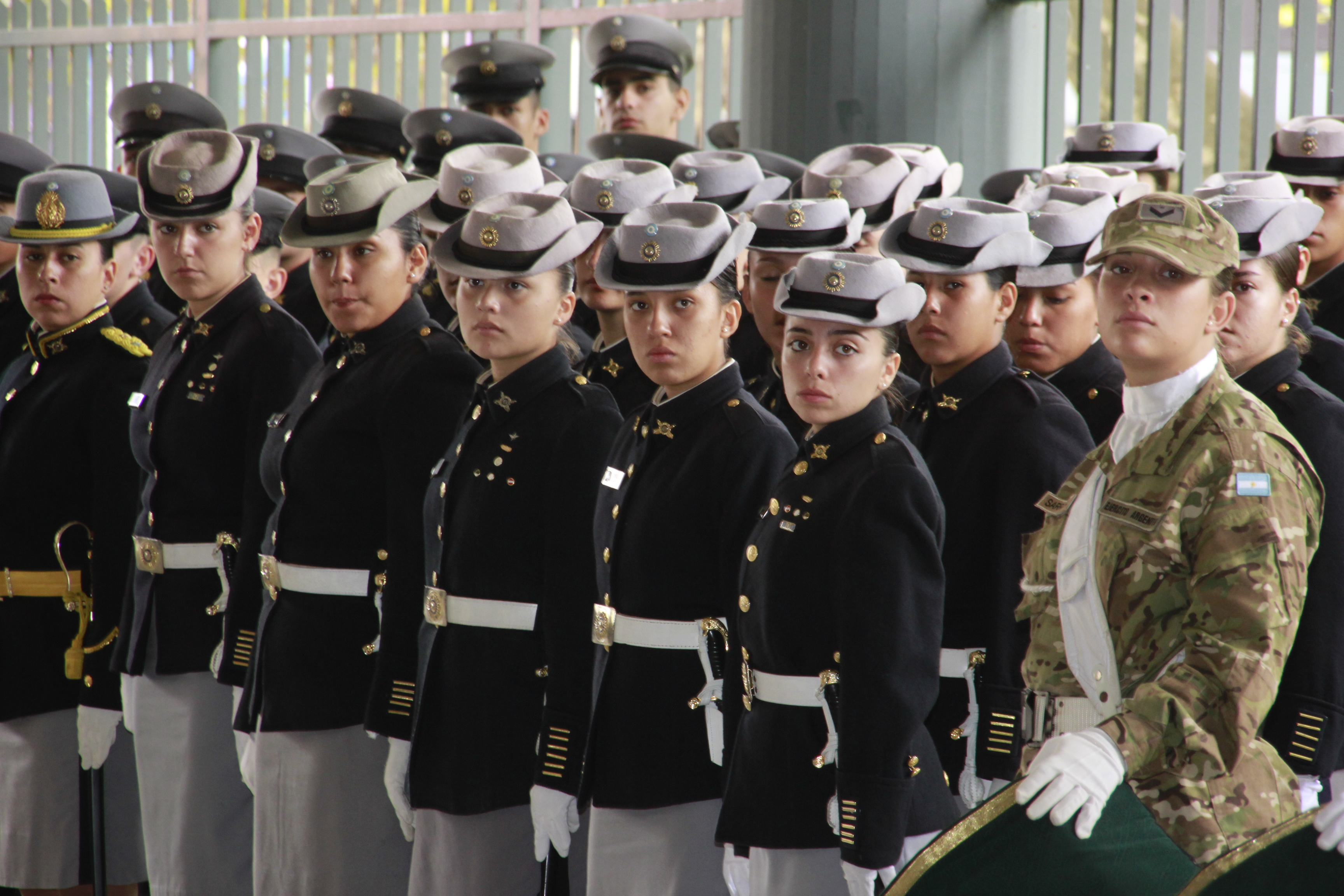 Participación del Liceo Militar Grl San Martín en el Acto de Malvinas en la localidad de Grl San Martín
