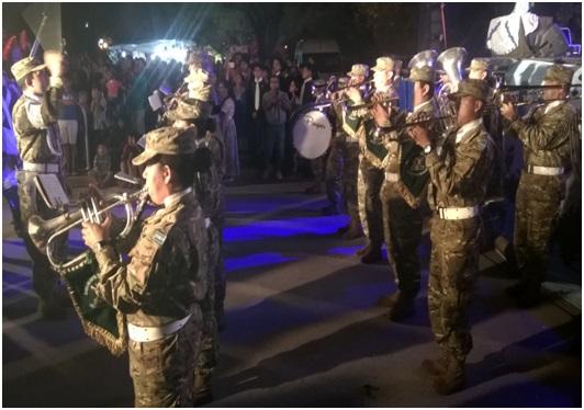 Acto conmemorativo por los 35 años de la gesta de Malvinas en la localidad de San Andrés