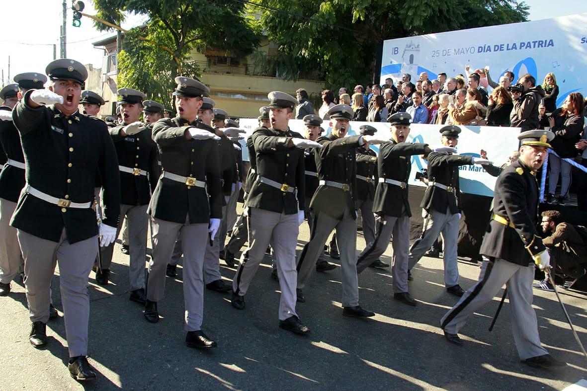 """El día 25 de mayo el Liceo Militar """"General  San Martín"""" conmemoró un nuevo Aniversario de la Revolución de Mayo"""