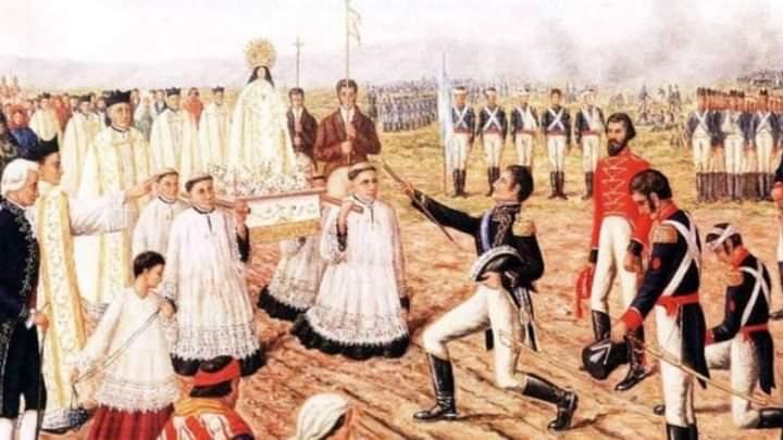 24 de septiembre – Virgen de la Merced, Patrona del Ejército Argentino
